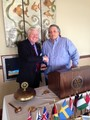 Bob DiMartino and Woodbury Rotary President Ken McIlvaine